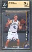 Dirk Nowitzki Rookie Card 1998-99 Finest #234 Dallas Mavericks BGS 9.5