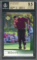 Tiger Woods Rookie Card 2001 Upper Deck #1 Golf BGS 9.5 (9.5 9.5 9.5 9.5)