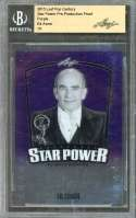 Ed Asner Card 2015 Leaf Pop Century Star Power Proof Purple 1/1 BGS AUTHENTIC