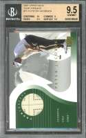 Peter Jacobsen Card 2001 Upper Deck Tour Threads #Tt-Pj BGS 9.5 (10 9 9.5 9.5)