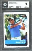 Rickie Fowler Rookie Card 2016 Si For Kids #498 Golf BGS 9 (9 8.5 9 9.5)
