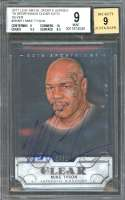 Mike Tyson 2017 Leaf Metal Sports Heroes Auto Silver #Skmt1 BGS 9 (9 10 9.5 8.5)