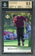 Tiger Woods Rookie Card 2001 Upper Deck #1 Golf BGS 9.5 (9.5 9 9.5 9.5)