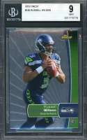 Russell Wilson Rookie Card 2012 Finest #140 Seattle Seahawks BGS 9