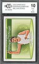 Luka Doncic Rookie Card 2019 Upper Deck Goodwin Champions #80 BGS BCCG 10