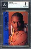Kobe Bryant Rookie Card 1996-97 Sp #134 Los Angeles Lakers BGS 9