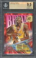 Kobe Bryant Rookie Card 1996-97 Z-Force #142 Los Angeles Lakers BGS 9.5