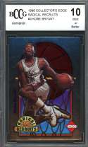 Kobe Bryant Rookie Card 1996 Collector'S Edge Radical Recruits #3 BGS BCCG 10