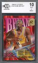 Kobe Bryant Rookie Card 1996-97 Z-Force #142 Los Angeles Lakers BGS BCCG 10