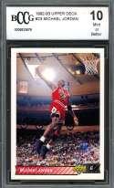 Michael Jordan Card 1992-93 Upper Deck #23 Chicago Bulls BGS BCCG 10