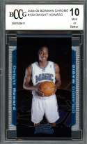 Dwight Howard Orlando Mag 2004-05 Bowman Chrome #129 Ic Rookie Card BGS BCCG 10