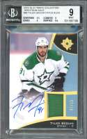 Tyler Seguin 2015-16 Ultimate Spectrum Gold #46 Patch Auto BGS 9 (9.5 9 9 9.5)