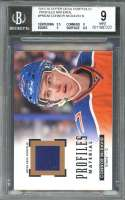 Connor Mcdavid 2015-16 Upper Deck Profiles Materials #Pmcm BGS 9 (9.5 9 9 8.5)