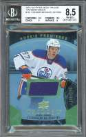 Connor Mcdavid Rc 2015-16 Upper Deck Trilogy Green #101 BGS 8.5 (9.5 8.5 9 8)