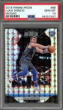 Luka Doncic Rookie Card 2018-19 Panini Prizm Mosaic #68 Dallas Mavericks PSA 10