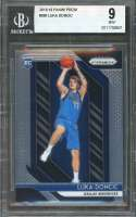 Luka Doncic Rookie Card 2018-19 Panini Prizm #280 Dallas Mavericks BGS 9