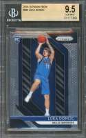 Luka Doncic Rookie Card 2018-19 Panini Prizm #280 Dallas Mavericks BGS 9.5