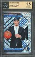Luka Doncic Rc 2018-19 Panini Prizm Luck Of Lottery Prizms Fast Break #3 BGS 9.5
