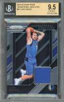 Luka Doncic Rookie Card 2018-19 Panini Prizm Sensational Swatches #87 BGS 9.5