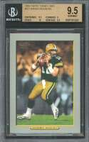 Aaron Rodgers Rookie Card 2005 Topps Turkey Red #221 BGS 9.5 (9.5 9 10 9.5)