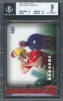 Aaron Rodgers Rookie Card 2005 Upper Deck #202 Packers BGS 9 (9.5 8.5 9 9.5)