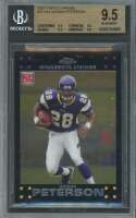 Adrian Peterson Rookie Card 2007 Topps Chrome #Tc181 BGS 9.5 (9.5 9.5 9.5 9.5)
