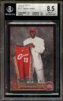 Lebron James Rookie Card 2003-04 Topps Black #221 BGS 8.5 (9.5 8.5 9 8.5)