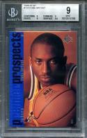1996-97 sp #134 KOBE BRYANT los angeles lakers rookie card BGS 9 (9 9 9 9.5)