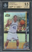 1998-99 finest refractors #234 DIRK NOWITZKI rookie card BGS 9.5 (9.5 9.5 10 9)