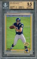2001 topps collection #328 DREW BREES saints rookie card BGS 9.5 (9.5 9 9.5 9.5)