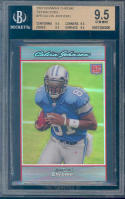 2007 bowman chrome refractors #75 CALVIN JOHNSON rookie BGS 9.5 9.5 9.5 9.5