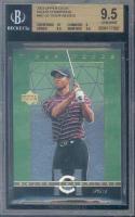 2003 upper deck major champions #mc-35 TIGER WOODS BGS 10 9.5