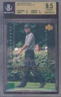 2002 upper deck #106 TIGER WOODS LB golf BGS 10 9.5