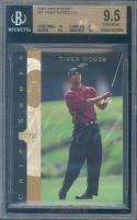2003 upper deck #91 TIGER WOODS golf BGS 10 9 9.5 10
