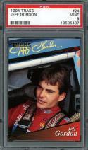 1994 traks #24 JEFF GORDON nascar PSA 9