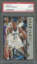 1995-96 sp #159 KEVIN GARNETT minnesota timberwolves rookie card PSA 9