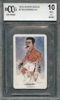 1979 venorlandus #3 MUHAMMAD ALI boxing card BGS BCCG 10