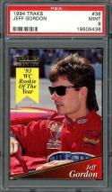 1994 traks #36 JEFF GORDON nascar PSA 9