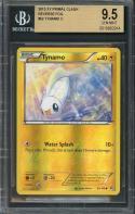 2015 xy primal clash reverse foil #62 TYNAMO C pokemon BGS 9.5
