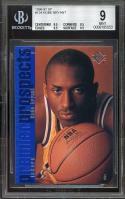 1996-97 sp #134 KOBE BRYANT los angeles lakers rookie BGS 9 (9.5 8.5 9.5 9.5)