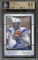 2011 sage hit pre-rookie #pr1 CAM NEWTON panthers rookie BGS 9.5 (9 9.5 9.5 10)