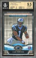 2011 topps platinum xfractors #1 CAM NEWTON rookie card BGS 9.5 (10 9.5 9.5 9.5)