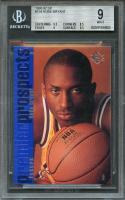 1996-97 sp #134 KOBE BRYANT los angeles lakers rookie card BGS 9 (9.5 8.5 9 9.5)