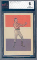 1956 adventure r749 #76 JOHN L SULLIVAN boxing BGS BVG 8 (pop 1 highest graded)