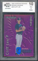 2002 donruss crusade #45 CLIFF LEE rookie BGS BCCG 10