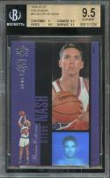 1996-97 sp holoviews #pc30 STEVE NASH suns rookie card BGS 9.5 (9 9.5 9.5 9.5)