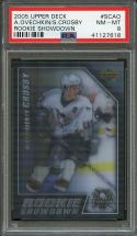 2005-06 upper deck rookie showdown #scao OVECHKIN / CROSBY rookie card PSA 8