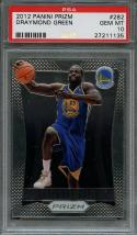 2012-13 panini prizm #282 DRAYMOND GREEN golden state warriors rookie PSA 10