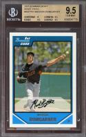 2007 bowman draft draft picks #61 MADISON BUMGARNER rookie BGS 9 9.5 9.5 9.5