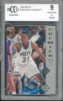 1995-96 sp #159 KEVIN GARNETT minnesota timberwolves rookie card BGS BCCG 9